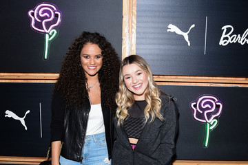 Madison Pettis PUMA And Barbie Come Together For Art Inspired Launch Event For Their Suede 50th Collaboration