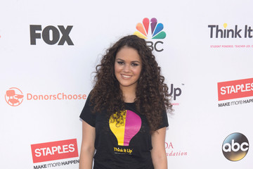 Madison Pettis ABC's Coverage of the Entertainment Industry Foundation's 'Think It Up'