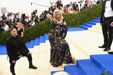 "Madonna ""Rei Kawakubo/Comme des Garcons: Art of the In-Between"" Costume Institute Gala - Arrivals"