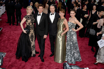 Mads Mikkelsen Thomas Vinterberg Arrivals at the 86th Annual Academy Awards — Part 14