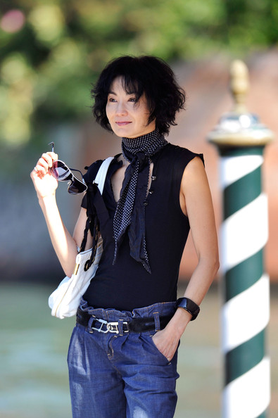 Maggie Cheung - Celebrity Sightings - Day Four:67th Venice Film Festival