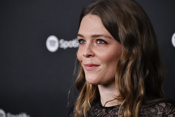 """Maggie Rogers Spotify Hosts """"Best New Artist"""" Party At The Lot Studios - Red Carpet"""