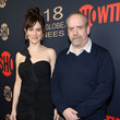 Maggie Siff Showtime Golden Globe Nominees Celebration - Red Carpet