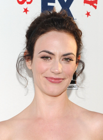 Maggie Siff Actress Arrives At The Premiere Of F