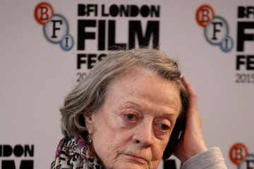 Maggie Smith 'The Lady In The Van' - Press Conference - BFI London Film Festival