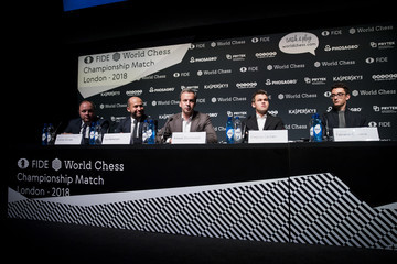 Magnus Carlsen Press Conference Of The Championship Match 2018