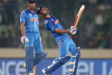 Mahendra Singh Dhoni India v South Africa