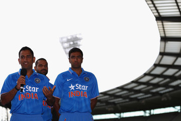 Mahendra Singh Dhoni Team India Unveils New One Day International Kit
