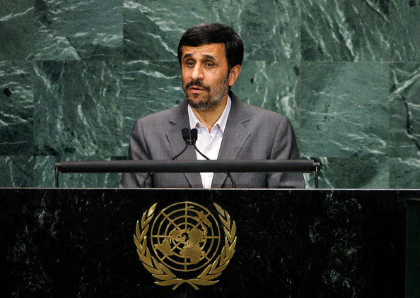Mahmoud Ahmadinejad Iranian President Mahmoud Ahmadinejad addresses the Millennium Development Goals summit on September 21, 2010 in New York City. Approximately 140 world leaders will attend the Millennium Development Goals summit, a three-day conference on ending global poverty, hunger and disease within the next five years. This week will also see the annual United Nations General Assembly convene.