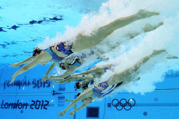 Mai Nakamura Olympics Day 13 - Synchronised Swimming
