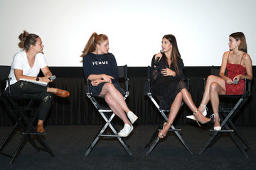 Maia Mitchell Camila Morrone Screening And Q&A Of A24's 'Never Goin' Back'