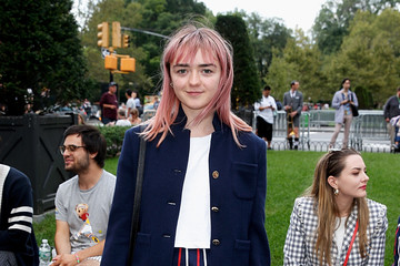 Maisie Williams Bergdorf Goodman Celebrates The Arrival Of Thom Browne Womenswear