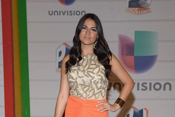 Maite Perroni Arrivals at the Premios Juventud Event