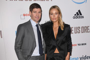 Steven Gerrard and Alex Gerrard attend the World Premiere of 'Make Us Dream' at The Curzon Mayfair on November 14, 2018 in London, England.