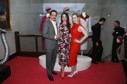 Tony Shalboub, Marin Hinkle and Rachel Brosnahan attend the Making Maisel Marvelous featuring Amazon Prime Original The Marvelous Mrs. Maisel at The Paley Center for Media on August 10, 2019 in New York City.