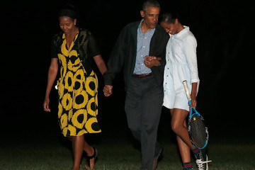 Malia Obama The Obamas Return to the White House