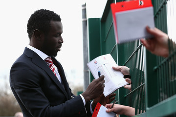 Mame Biram Diouf Stoke City v Middlesbrough - Premier League