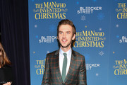 """Dan Stevens attends """"The Man Who Invented Christmas"""" New York screening at Florence Gould Hall on November 12, 2017 in New York City."""