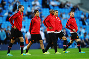 Ashley Young and Chris Smalling Photos Photo