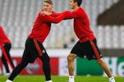 Bastian Schweinsteiger and Matteo Darmian Photos Photo