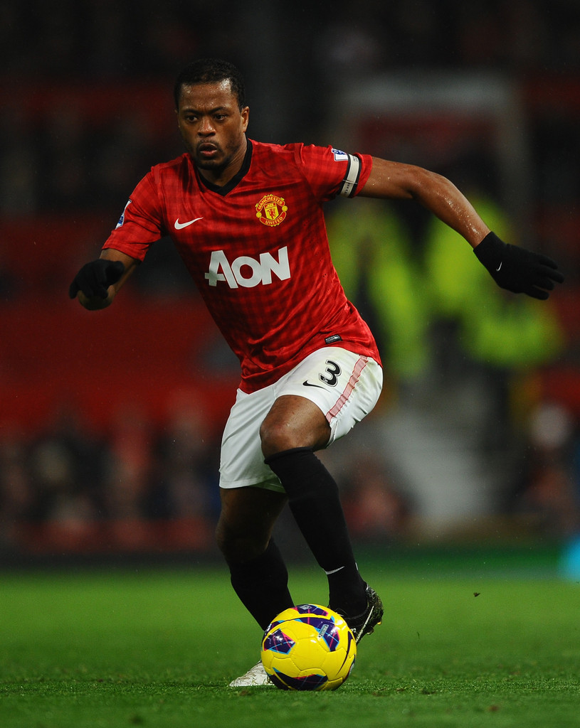 Patrice Evra s s Manchester United v Queens Park