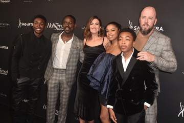 Mandy Moore Sterling K. Brown The Hollywood Reporter And SAG-AFTRA Celebrate Emmy Award Contenders At Annual Nominees Night - Arrivals