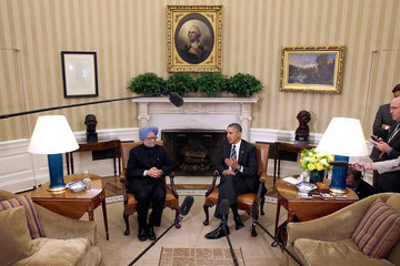 Manmohan Singh Manmohan Singh Arrives at the White House