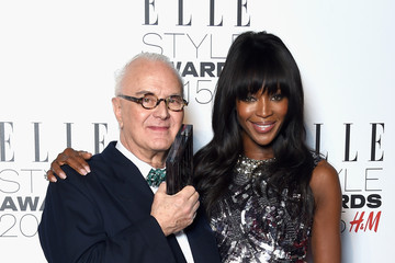 Manolo Blahnik Elle Style Awards 2015 - Winners Room