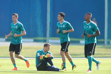 Manuel Neuer Germany Training And Press Conference