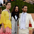 Charlotte Casiraghi and Alessandro Michele