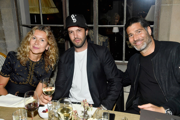 MAOR Private Dinner [event,alcohol,drink,liqueur,distilled beverage,natalie joos,barry bayat,maor cohen,dinner,l-r,maor,chateau marmont,los angeles,california,maor private dinner]