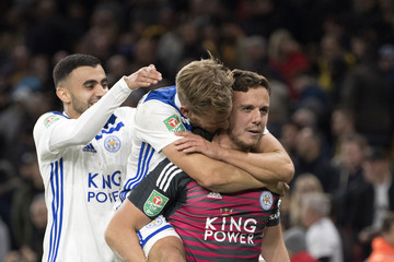 Marc Albrighton Wolverhampton Wanderers v Leicester City - Carabao Cup Third Round