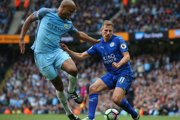 Marc Albrighton Manchester City v Leicester City - Premier League