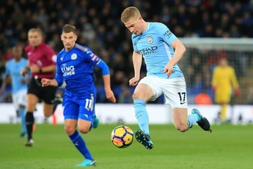 Marc Albrighton Leicester City v Manchester City - Premier League