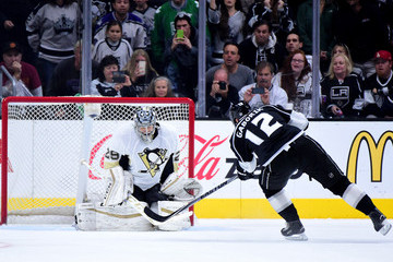 Marc-Andre Fleury Pittsburgh Penguins v Los Angeles Kings