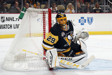 Marc-Andre Fleury Colorado Avalanche v Pittsburgh Penguins