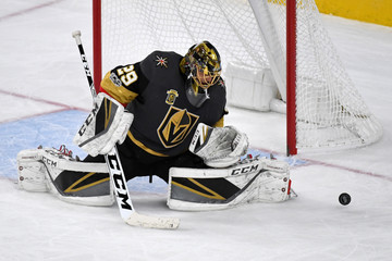 Marc-Andre Fleury Pittsburgh Penguins v Vegas Golden Knights