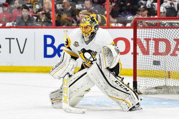 Marc-Andre Fleury Pittsburgh Penguins v Ottawa Senators - Game Six
