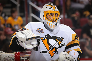 Marc-Andre Fleury Pittsburgh Penguins v Arizona Coyotes
