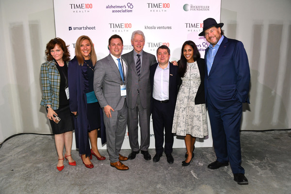TIME 100 Health Summit [event,social group,design,employment,businessperson,tourism,job,team,management,award,bill clinton,marc benioff,editor-in-chief,ceo,members,edward felsenthal,time 100 health summit,c,u.s.,time]