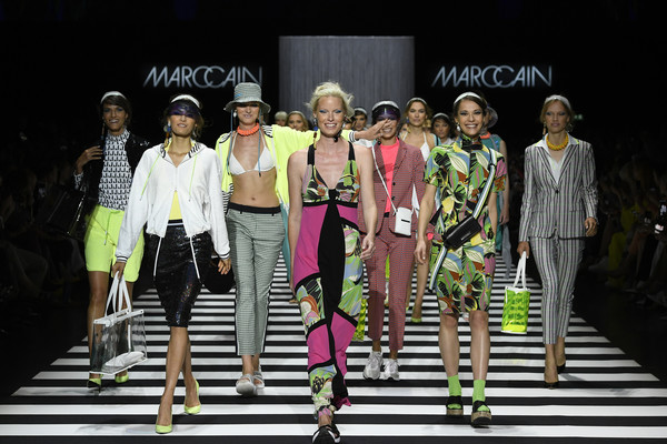 Marc Cain Fashion Show Berlin Fashion Week Spring/Summer 2020