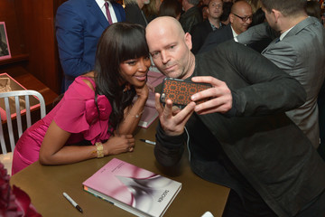 Marc Forster Naomi Campbell and Benedikt Taschen Celebrate The Los Angeles Launch of 'Naomi' at Taschen Beverly Hills