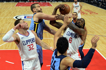 Marc Gasol Memphis Grizzlies v Los Angeles Clippers