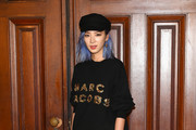 Irene Kim attends the Marc Jacobs Fashion Show during New York Fashion Week at Park Avenue Armory on September 13, 2017 in New York City.