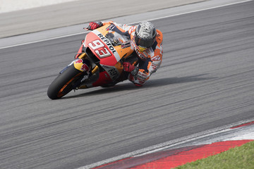 Marc Marquez MotoGP Tests In Sepang