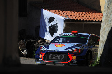 Marc Marti FIA World Rally Championship France - Day Two