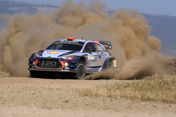 Marc Marti FIA World Rally Championship Italy - Day One