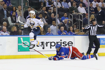 Marc Staal Buffalo Sabres v New York Rangers