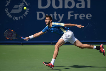 Marcel Granollers ATP Dubai Duty Free Tennis  Championship - Day Two
