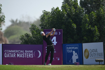 Marcel Siem Commercial Bank Qatar Masters - Day Two